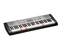 Casio LK-130 MIDI Tastatur (Schwarz, Grau, Weiß)