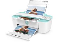 HP DeskJet 3730 Thermal Inkjet A4 WLAN Weiß (Türkis, Weiß)