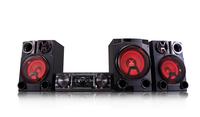 LG CM8460 Mini set 2750W Schwarz Home-Stereoanlage (Schwarz)