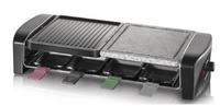 Severin RG 9645 Grill Tisch Elektro 1400W Schwarz Barbecue & Grill (Schwarz)