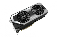 Palit NEB1080S15P2-1040J GeForce GTX 1080 8GB GDDR5X Grafikkarte (Schwarz, Silber)