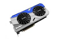 Palit NEB1080T15P2-1040G NVIDIA GeForce GTX 1080 8GB Grafikkarte (Blau, Grau)