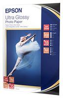 Epson Ultra Glossy Photo Paper, DIN A4, 300 g/m², 15 Blatt