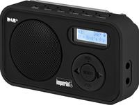 DigitalBox Dabman 12 Tragbar Analog & digital Schwarz Radio (Schwarz)
