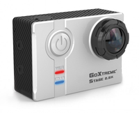 Easypix GoXtreme Stage 2.5K Ultra HD Stereo Cam 4MP WLAN 74g Actionsport-Kamera (Schwarz, Weiß)