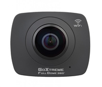 Easypix GoXtreme FullDome 360° Panorama & VR 4MP Full HD CMOS WLAN Actionsport-Kamera (Schwarz)