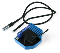 Qubino ZMNHID1 Z-Wave Schwarz, Blau Thermostat (Schwarz, Blau)