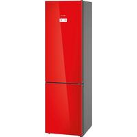 Bosch Serie 6 KGN39LR35 Freistehend 366l A++ Rot, Edelstahl Kühl- und Gefrierkombination (Rot, Edelstahl)