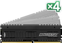 Crucial Ballistix Elite Kit 16GB DDR4 3200MHz Speichermodul (Schwarz)