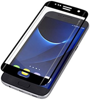 Invisible Shield G7ECGS-CLE Clear screen protector Galaxy S7 Edge 1Stück(e) Bildschirmschutzfolie (Schwarz, Transparent)