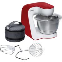 Bosch MUM5 StartLine MUM54R00 900W 3.9l Rot, Weiß Küchenmaschine (Rot, Weiß)