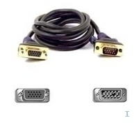 Belkin VGA Monitor Extension Cable 3 m (Schwarz)