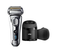 Braun Series 9 9295cc Wet&Dry Folienschaber Trimmer Chrom Herrenrasierapparat (Chrom)