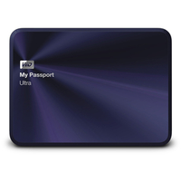 Western Digital My Passport Ultra Metal 4000GB Blau (Blau)