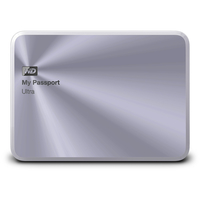 Western Digital My Passport Ultra Metal 4000GB Silber (Silber)