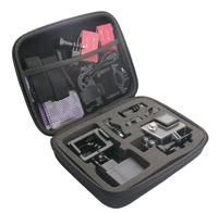 Easypix 55502 Universal Action sports camera case Zubehör für Actionkameras (Schwarz)