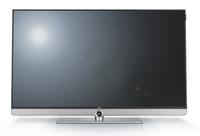 LOEWE 54458T87 40Zoll 4K Ultra HD Smart-TV WLAN Silber, Titan LED-Fernseher (Chrom, Silber)