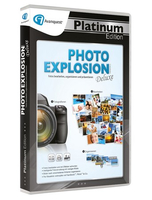 Avanquest Photo Explosion 5 Deluxe, Platinum Edition