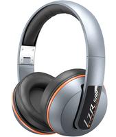 Magnat LZR 588 BT ohrumschließend Kopfband Silber (Orange, Silber)