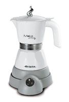 Ariete 8003705110960 Freistehend Elektrische Mokkatasse 4Tassen Grau, Weiß Kaffeemaschine (Grau, Weiß)