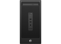 HP 280 G2 Microtower-PC (Schwarz)