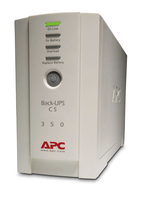 APC Back-UPS Standby (Offline) 350VA Turm Beige (Beige)