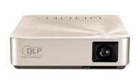ASUS S1 Tragbarer Projektor 200ANSI Lumen DLP WVGA (854x480) Gold Beamer (Gold)