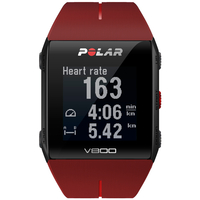 Polar V800 HR Bluetooth 128 x 128Pixel Rot Sportuhr (Rot)