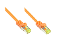 Alcasa Cat.7 S/FTP 2m 2m Cat7 S/FTP (S-STP) Orange (Orange)