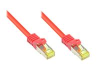 Alcasa Cat.7 S/FTP 3m 3m Cat7 S/FTP (S-STP) Rot (Rot)
