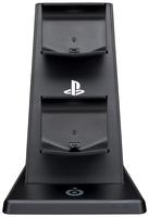 Bigben Interactive PS4OFQUADCHARGER Spielkonsolenzubehör (Schwarz)