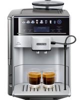 Siemens TE613501DE Combi coffee maker 1.7l Schwarz, Silber Kaffeemaschine (Schwarz, Silber)