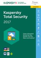 Kaspersky Lab Total Security 2017 3Benutzer 1Jahr(e)