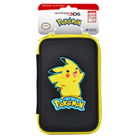 Hori 3DS-489U Beutel Nintendo Schwarz, Gelb Schutzhülle für tragbare Spielkonsolen (Schwarz, Gelb)