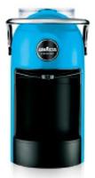 Lavazza Jolie Freistehend Halbautomatisch Pad-Kaffeemaschine 0.6l 1Tassen Schwarz, Blau (Schwarz, Blau)