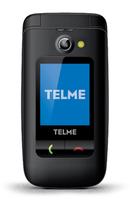 TELME X200 2.4Zoll 90g Schwarz Einsteigertelefon (Schwarz)