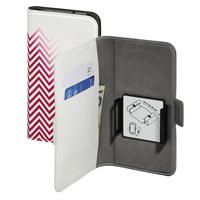 Hama Smart Move - Blurred Lines 5.1Zoll Folio Rot, Weiß (Rot, Weiß)