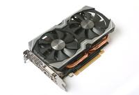 Zotac ZT-P10600B-10M GeForce GTX 1060 6GB GDDR5 Grafikkarte (Schwarz, Silber)