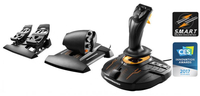 Thrustmaster T.16000M FCS Flight Pack Joystick Mac,PC Schwarz (Schwarz)