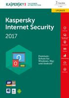 Kaspersky Lab Internet Security 2017 3Benutzer 1Jahr(e)
