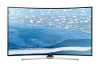 Samsung KU6179 55Zoll Smart-TV WLAN Schwarz (Schwarz)