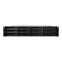 Synology RackStation RS3617xs NAS Rack (2U) Eingebauter Ethernet-Anschluss Schwarz (Schwarz)