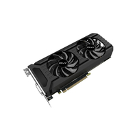 PNY GF1060GTX6GEPB NVIDIA GeForce GTX 1060 6GB Grafikkarte (Schwarz)