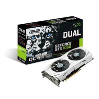 ASUS DUAL-GTX1060-O6G GeForce GTX 1060 6GB GDDR5 (Weiß)