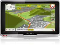 Becker Active 6s CE Fixed 6.2Zoll Touchscreen Schwarz, Silber (Schwarz, Silber)