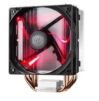 Cooler Master Hyper 212 LED Prozessor Kühler (Schwarz, Metallisch, Rot)