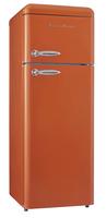 Schaub Lorenz SL210O Freistehend 166l 40l A++ Orange Kühl- und Gefrierkombination (Orange)