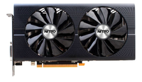 Sapphire 11260-01-20G AMD Radeon RX 480 8GB Grafikkarte (Schwarz)