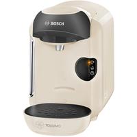 Bosch TAS1257 Pad-Kaffeemaschine 0.7l Schwarz Kaffeemaschine (Beige, Schwarz)