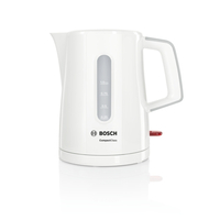 Bosch CompactClass TWK3A051 1l 2400W Grau, Weiß Wasserkocher (Grau, Weiß)